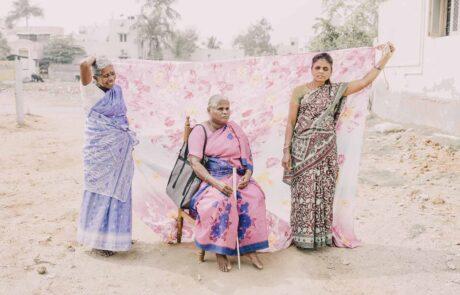 Spenden für Blinde in Trichy Indien